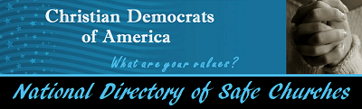 National Directory of Safe Churches Banner