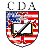Christian Democrats of America Mobile Logo