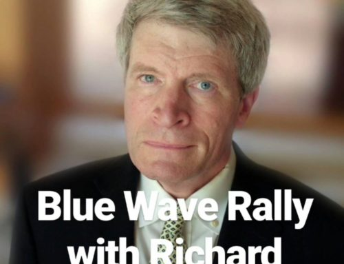 What Would Jesus Pod? Episode 18: Blue Wave Rally with Richard Painter