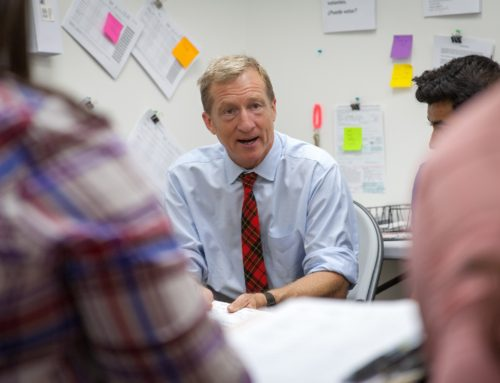 A Conversation with Tom Steyer
